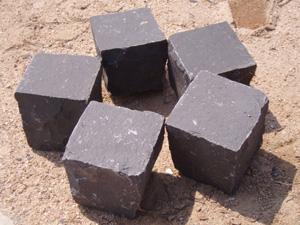 全自然小方块 漳浦黑,石材石料