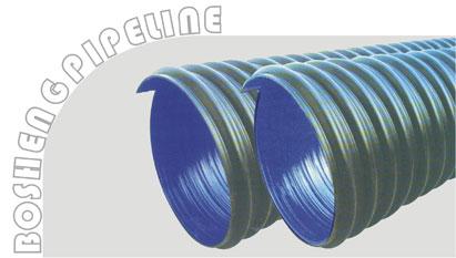 UPVC双壁波纹管 波盛管业,建筑 建材类管材
